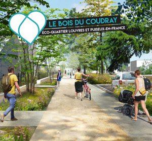 Le quartier le Bois du Coudray écoquartier Louvres Puiseux-en-France
