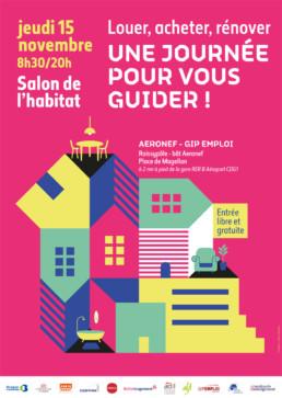 Salon de l'Habitat au GIP Emploi de Roissy CDG 1